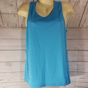 2 for 15 Basics Blue Racerback Tank Top